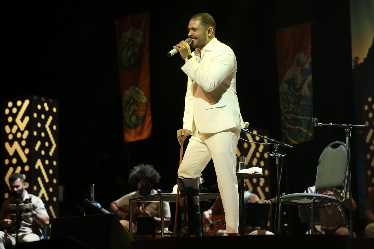 Diogo Nogueira no palco