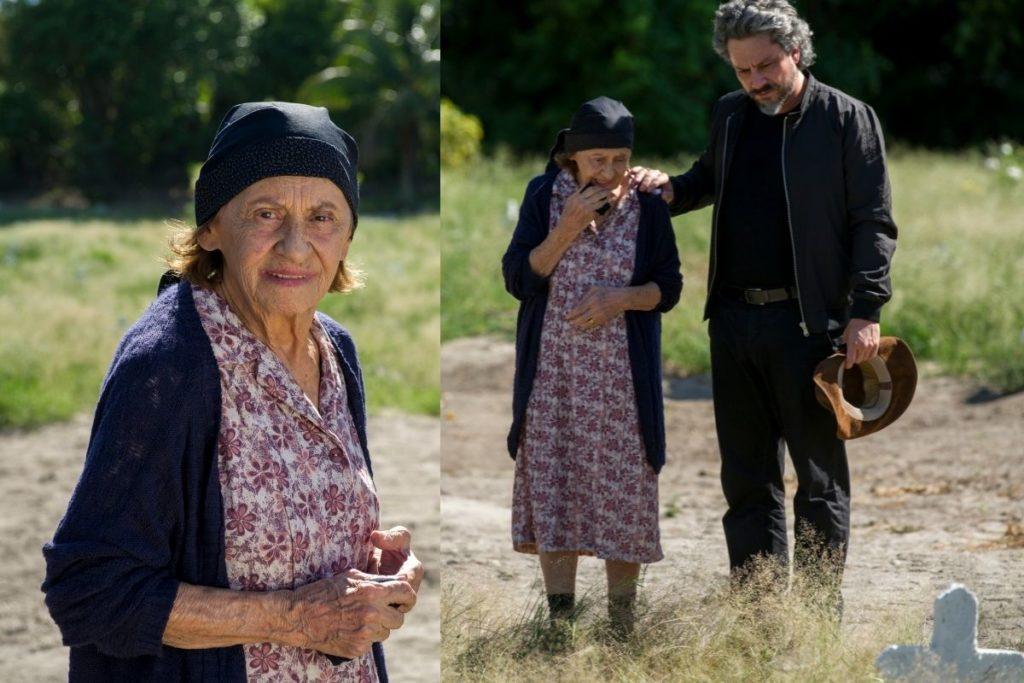 Império: José Alfredo (Alexandre Nero) encontra Jesuína (Laura Cardoso) mãe do verdadeiro Maurílio