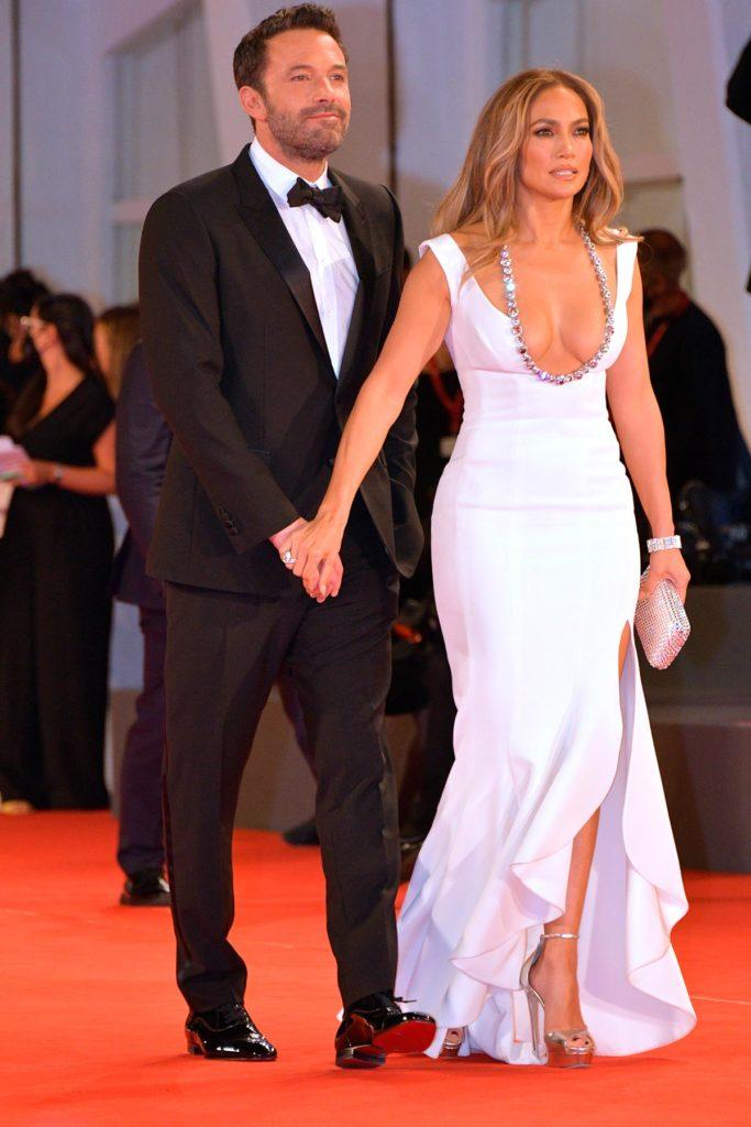 Jennifer Lopez e Ben Affleck no tapete vermelho do Festival de Cinema de Veneza