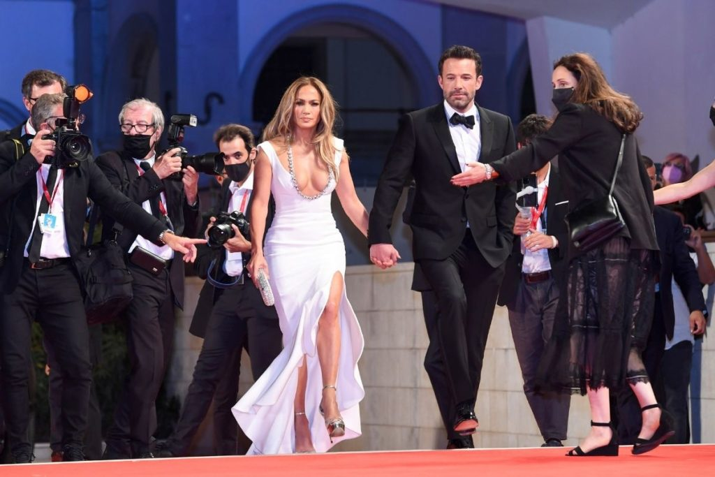 Todos os flashes voltados para Bennifer - Jennifer Lopez e Ben Affleck