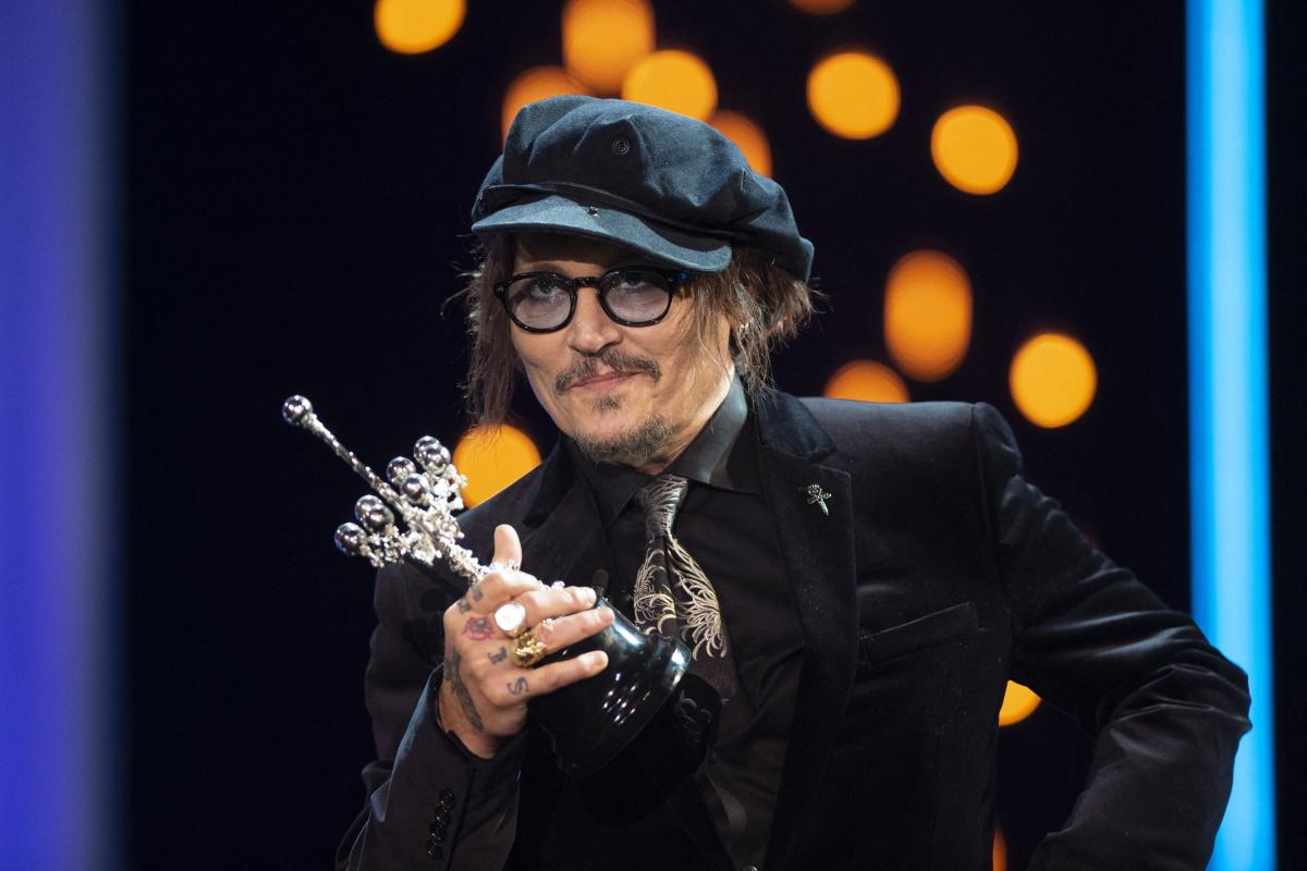 Johnny Depp no Festival de Cinema de San Sebastian