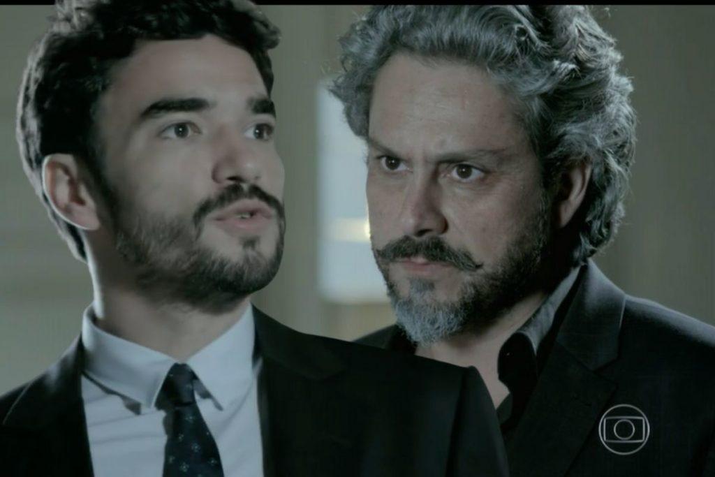 José Alfredo (Alexandre Nero) demite Zé Pedro (Caio Blat) da Império
