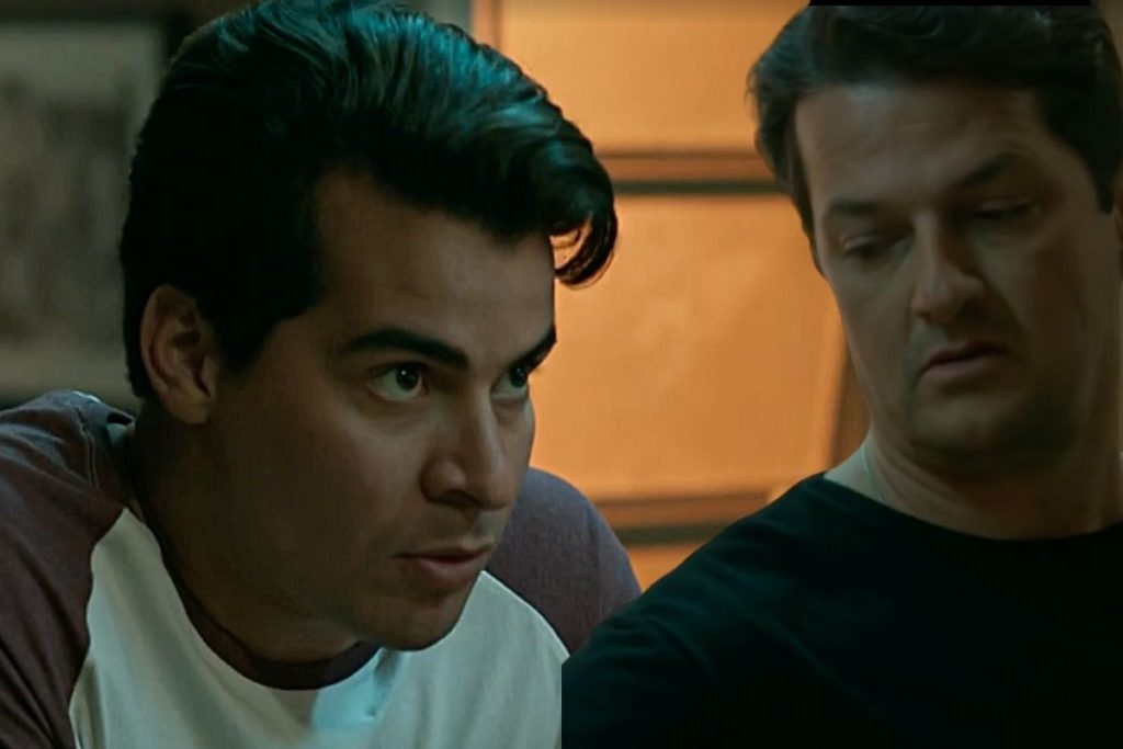 Júlio avisa Malagueta que irá denunciá-lo caso ele prejudique Arlete