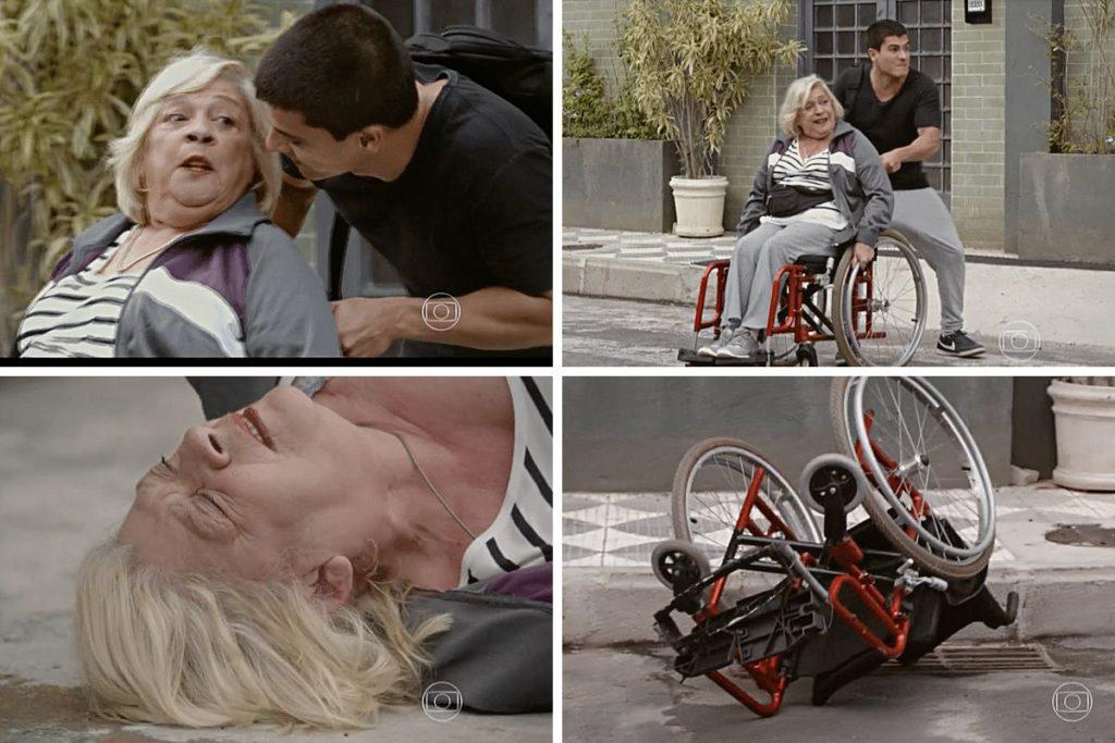 Lobão tenta matar Duca, mas Dalva acaba sendo atropelada