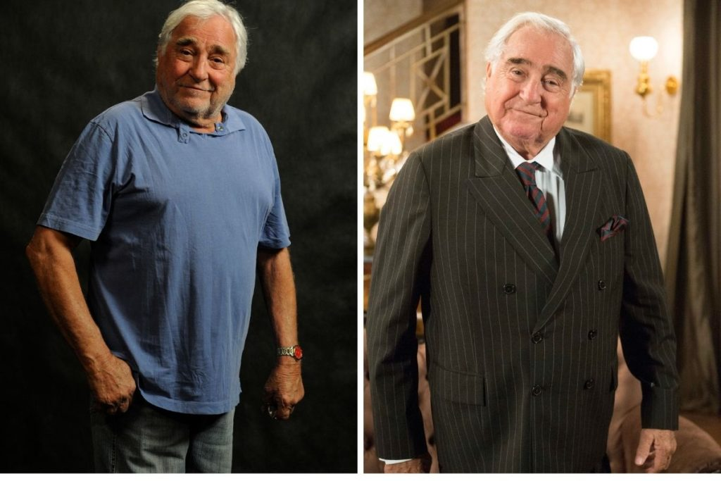 Luís Gustavo em Joia Rara (esquerda) e Fragoso de Êta Mundo Bão