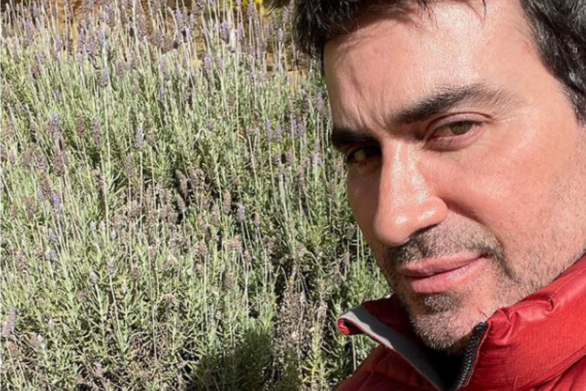 Padre Fabio de Melo selfie