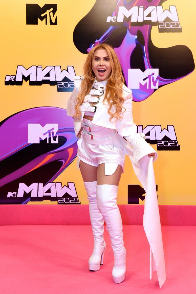Joelma Pink Carpet MTV MIAW 2021