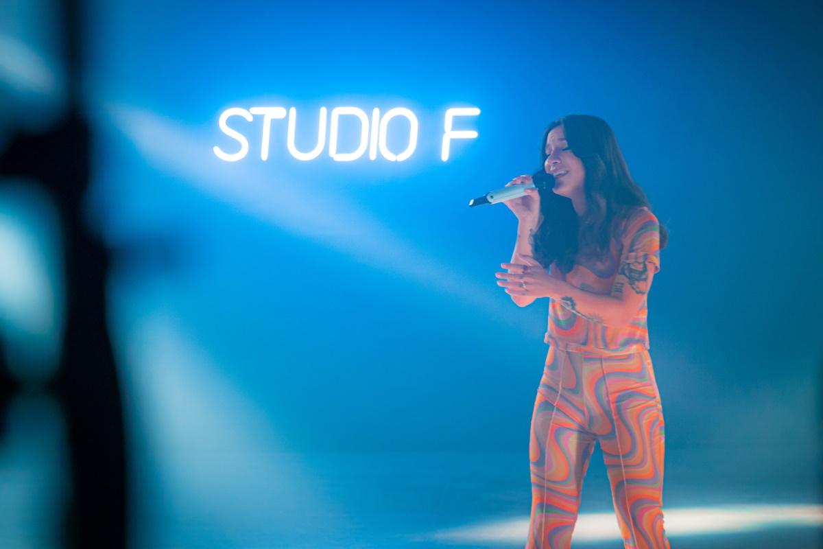 Priscila Alcantara no palco