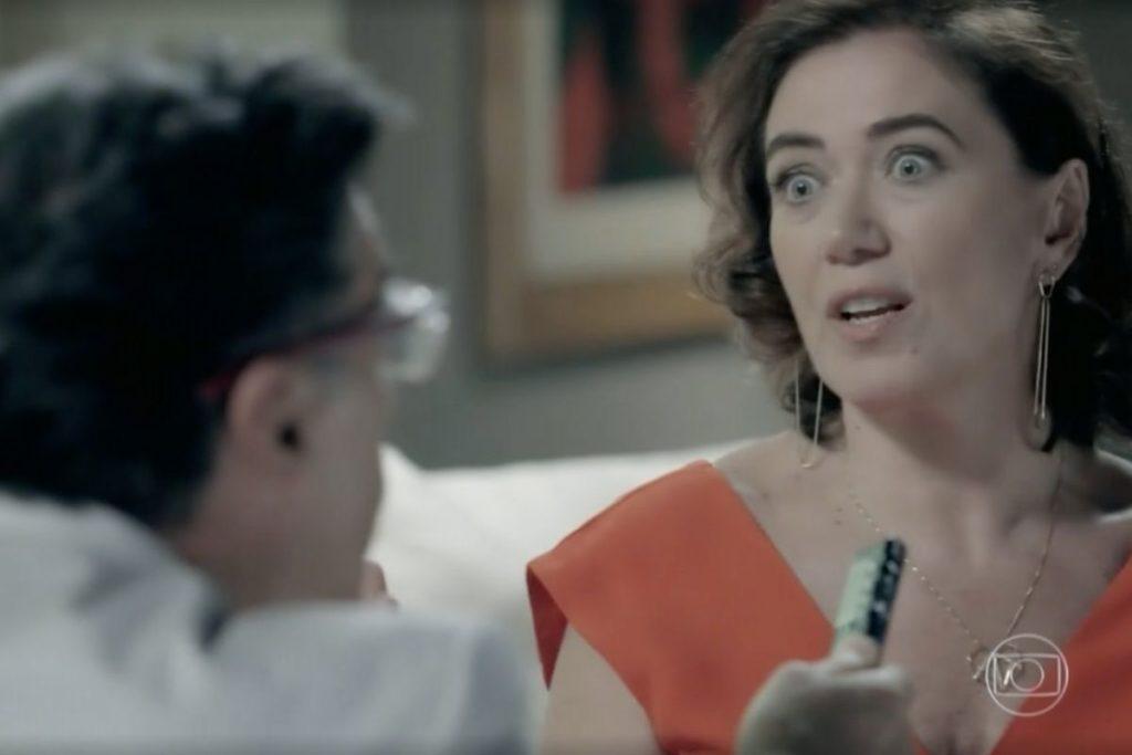 Império: Téo Pereira entrevista Maria Marta novamente