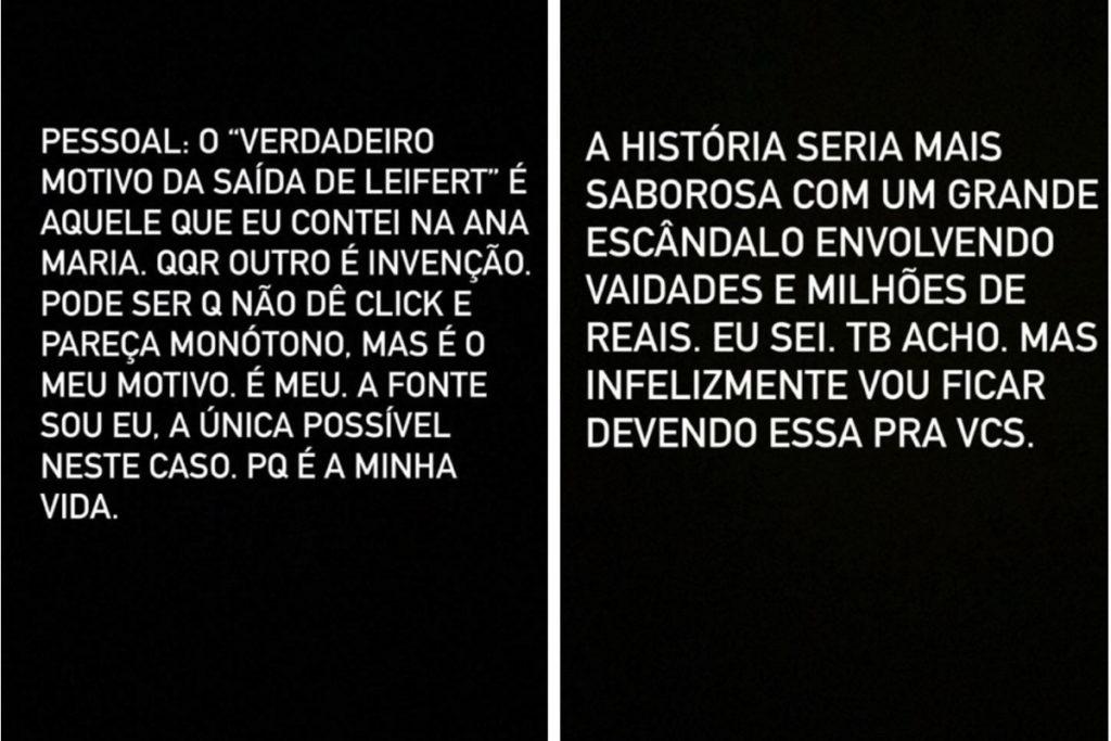 Post Tiago Leifert