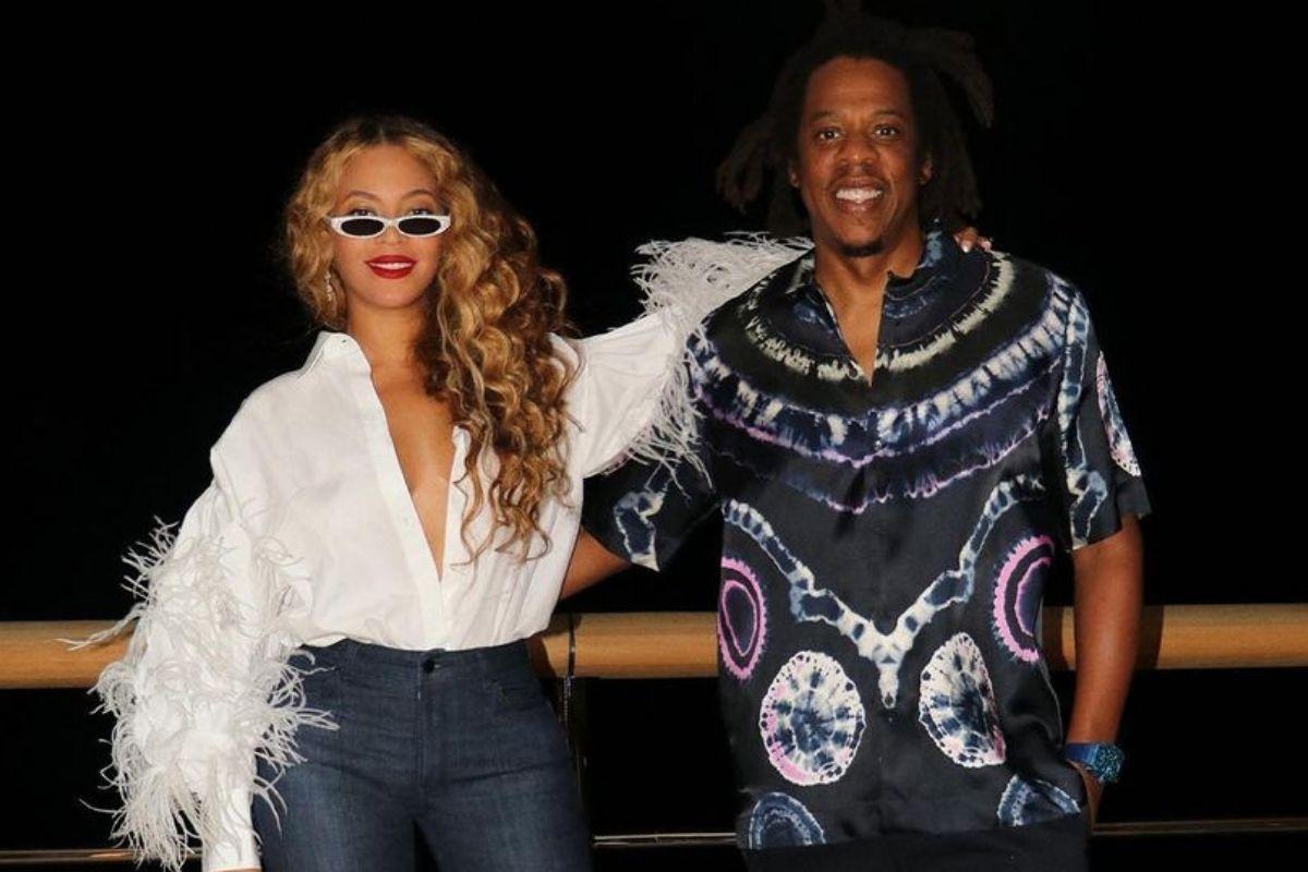 Beyoncé e Jay-Z em férias na Ilha de Capri, Itália