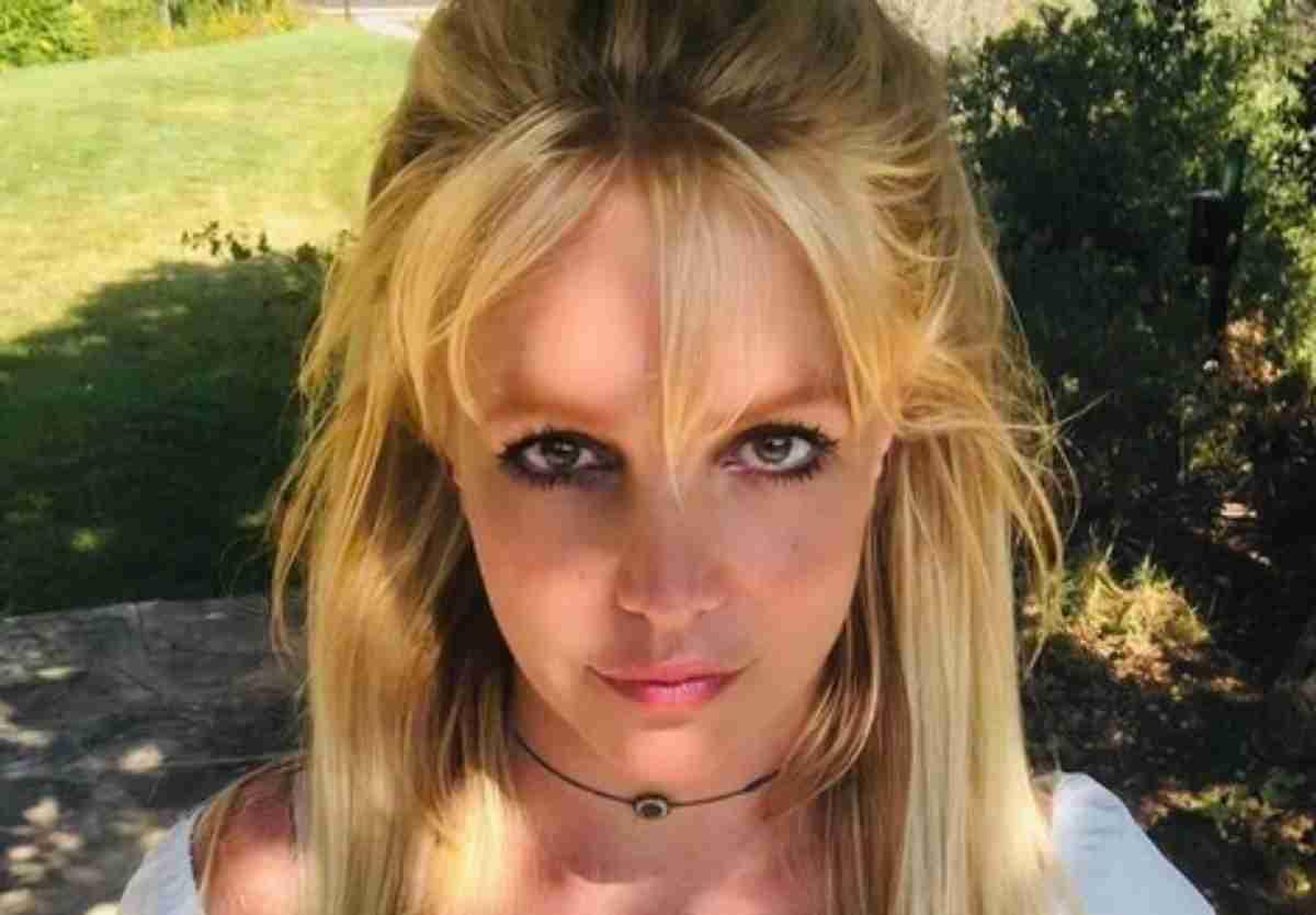 Britney Spears série em selfie
