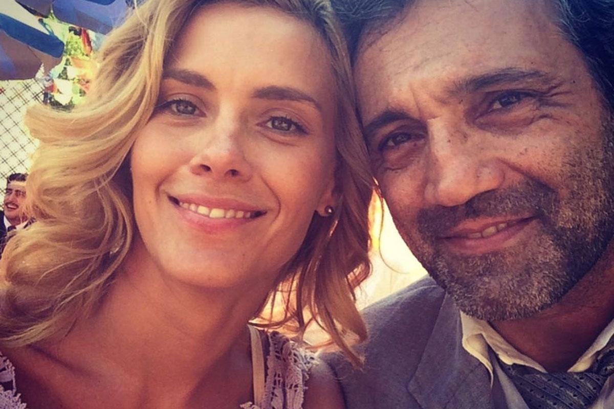 Carolina Dieckmann relembra foto com Domingos Montagner