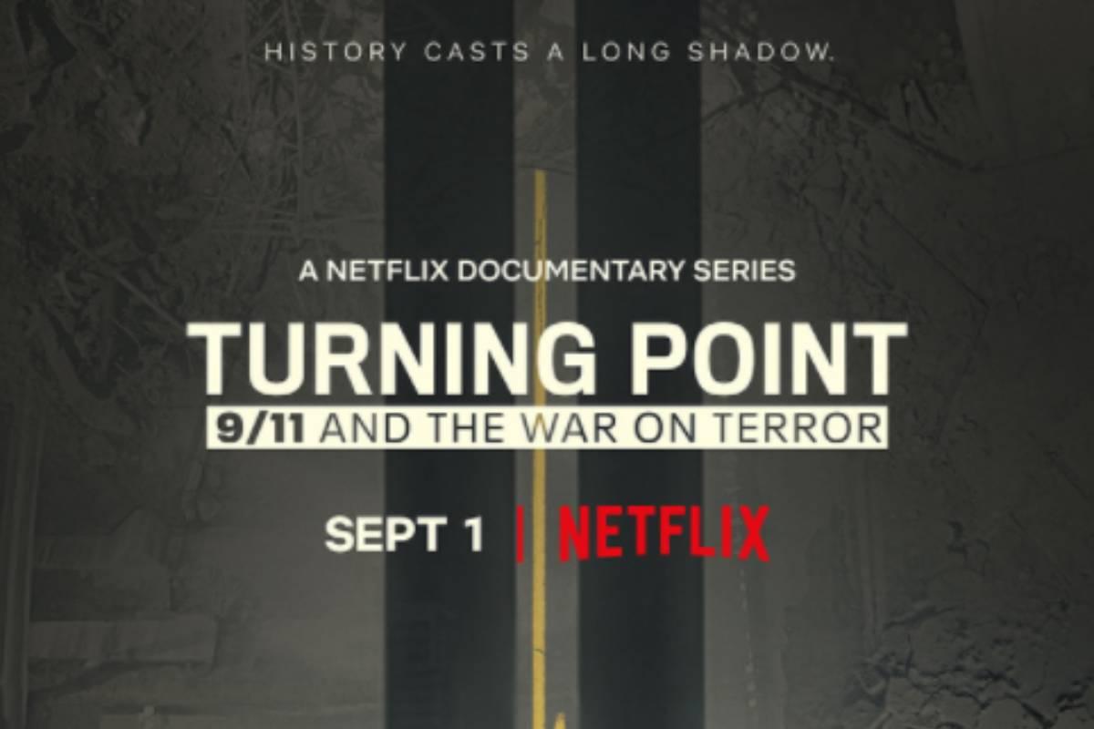 cartaz da série da netflix Ponto de Virada: 11/9 e a Guerra contra o Terror