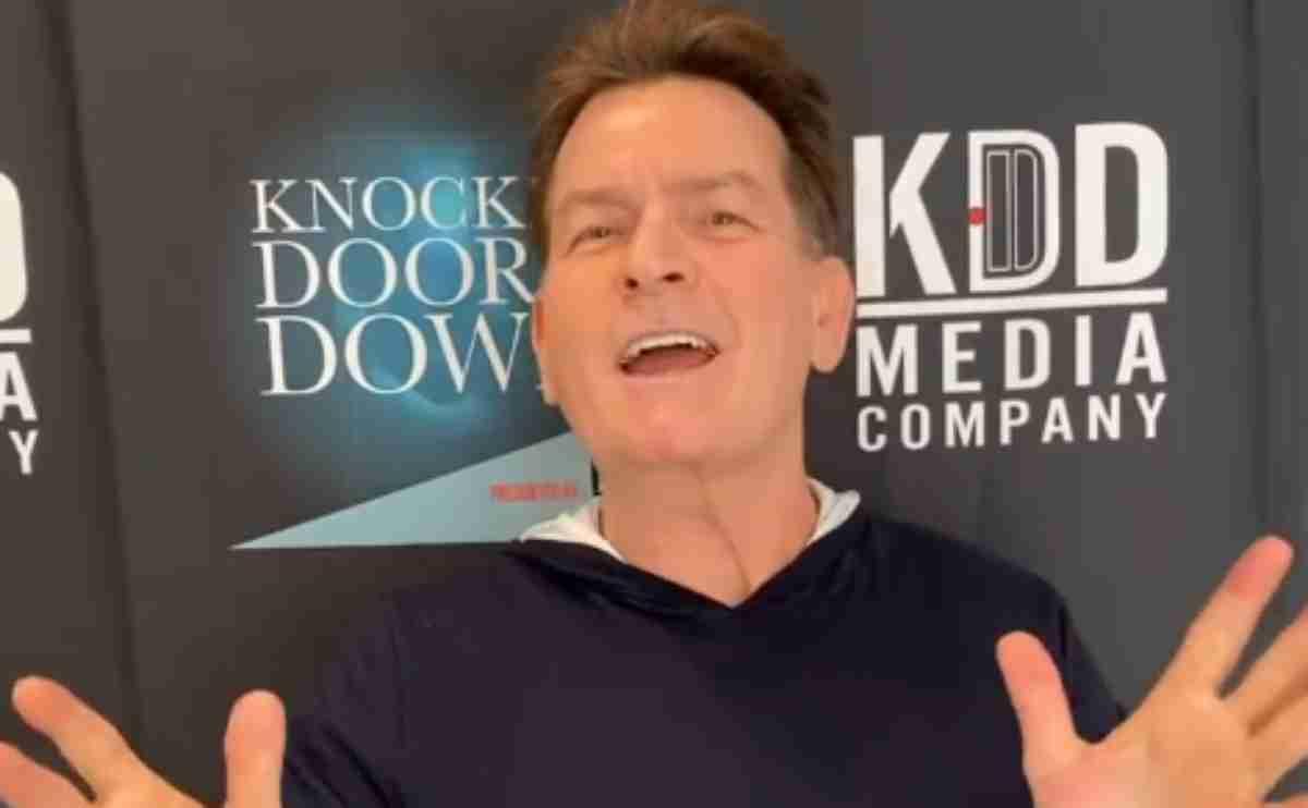 Charlie Sheen, print de video