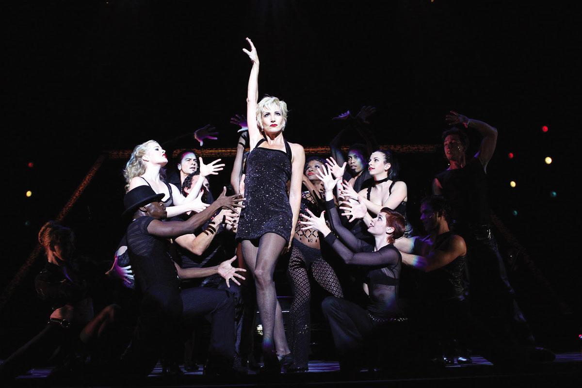 Cena do musical Chicago