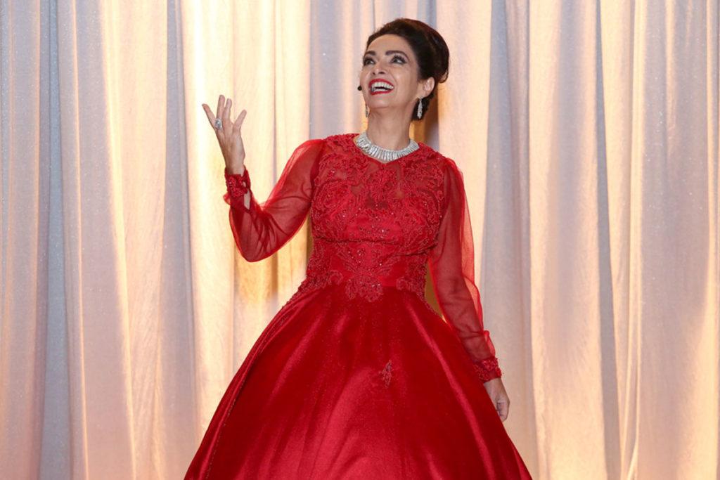 Claudia Ohana como Maria Callas