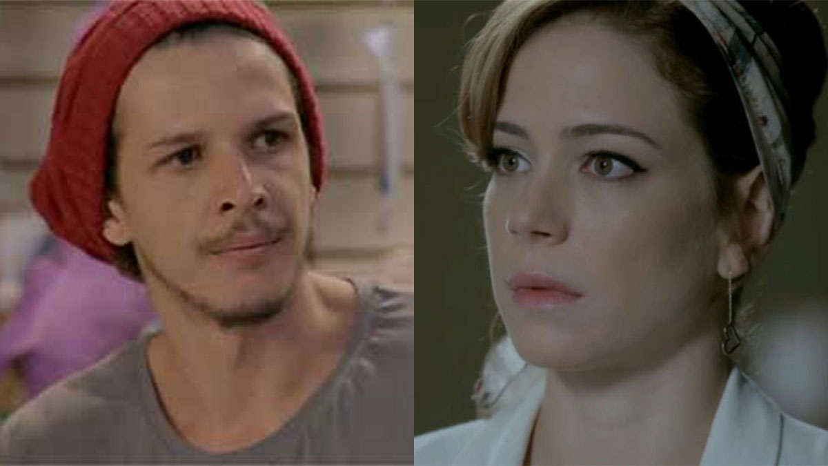 """Elivaldo fala com Cristina sobre seu encontro com o Comendador em """"Império"""""""