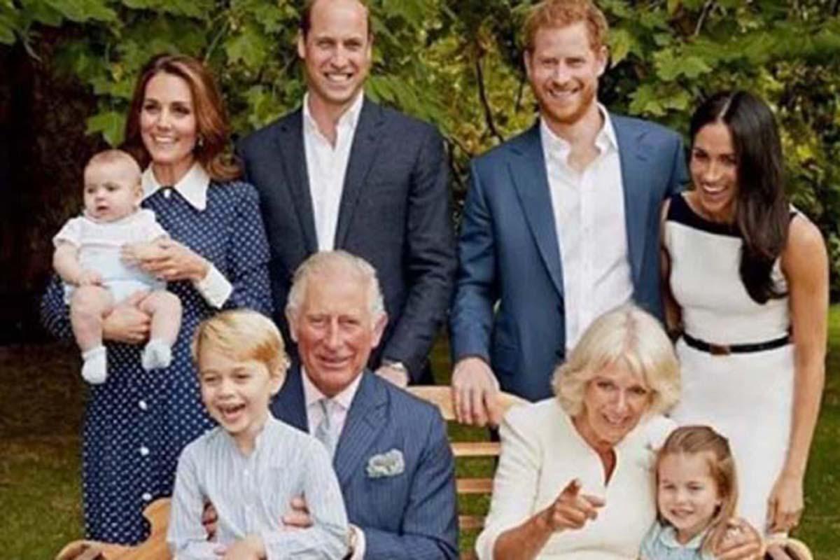 Membros da Família Real Britânica