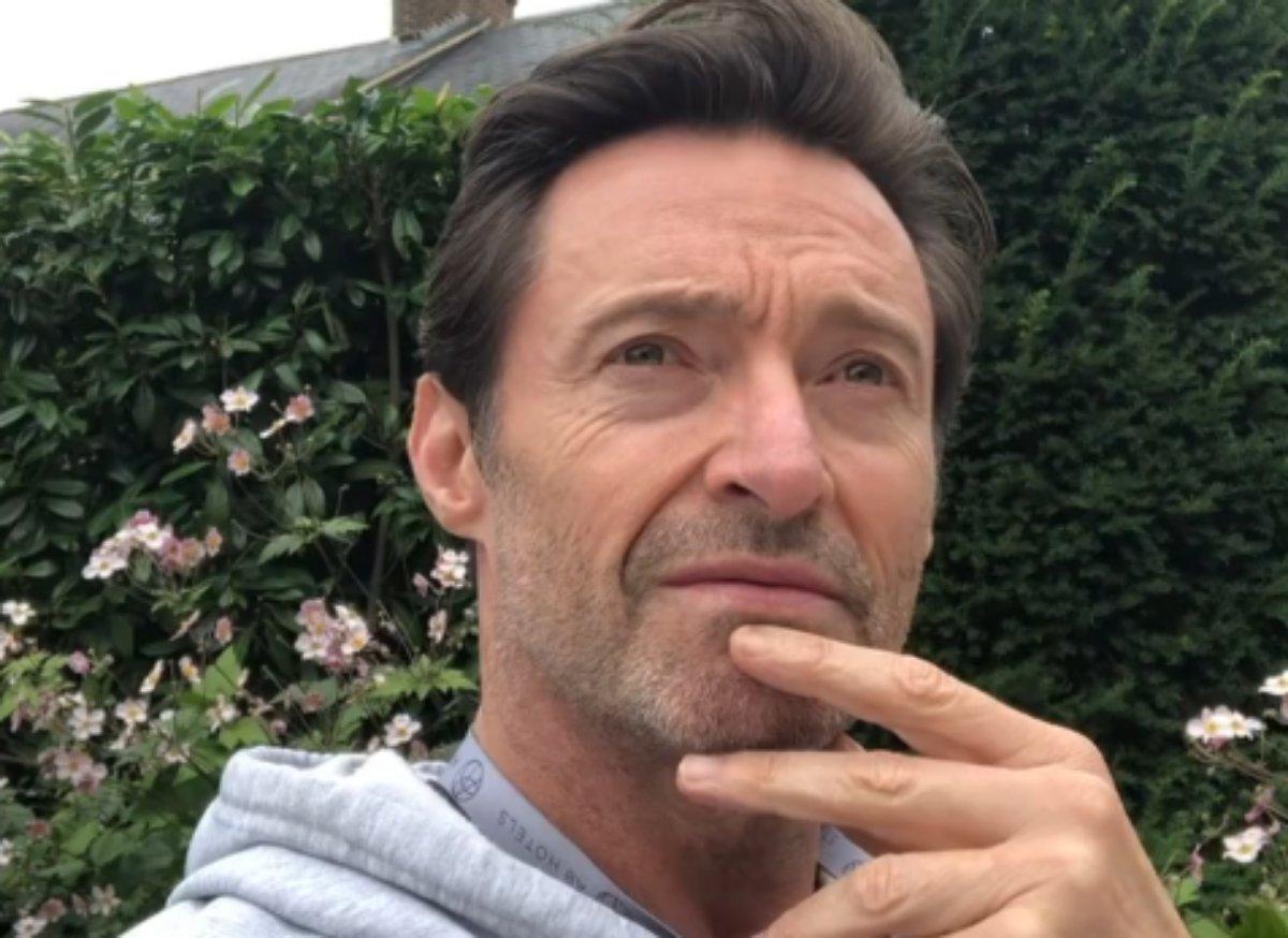 Hugh Jackman em vídeo do Instagram