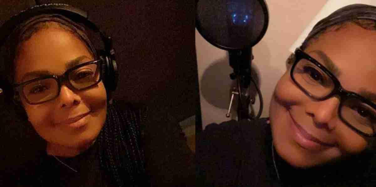 Janet Jackson em estúdio