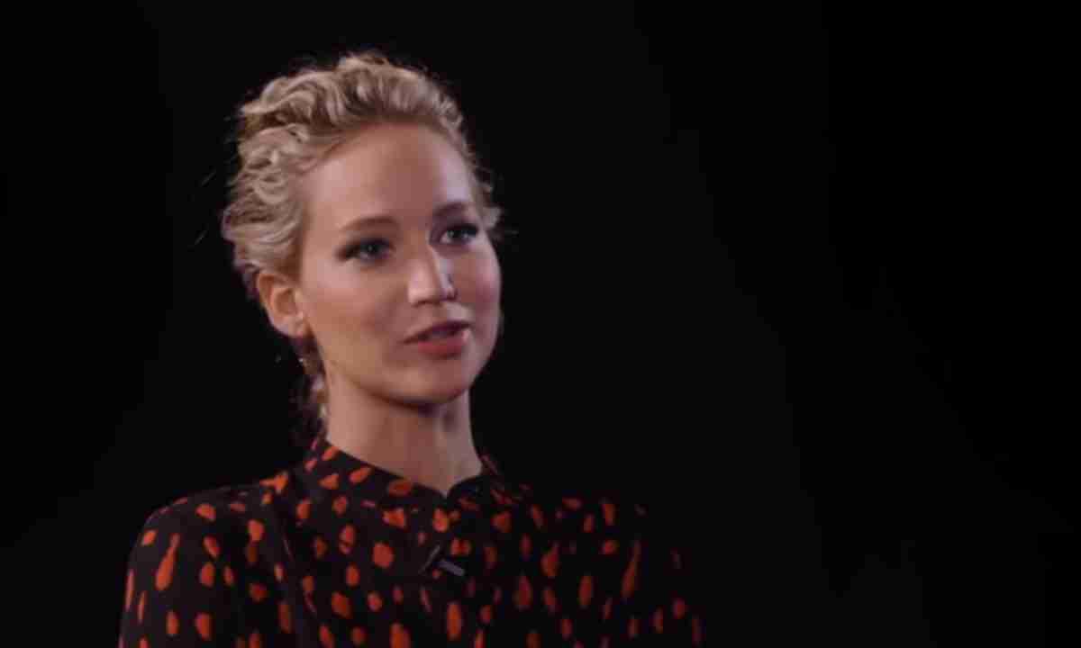 Jennifer Lawrence, print entrevista TV