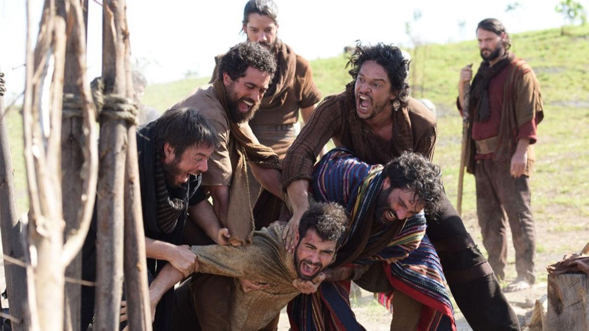 """José sofre novo ataque dos irmãos em """"Gênesis"""""""