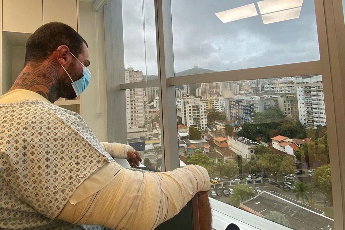Leo Stronda no hospital