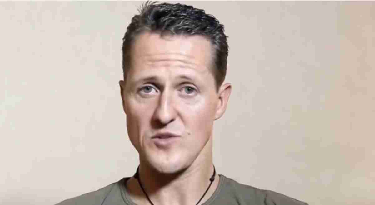 Michael Schumacher, print da última entrevista