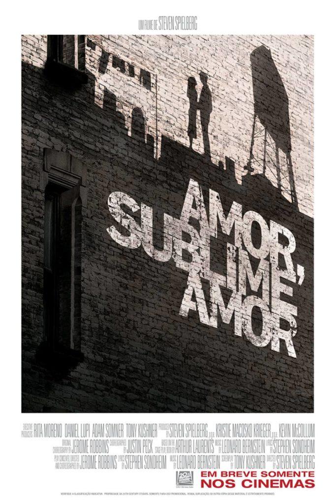 "pôster do filme ""amor, sublime amor"""
