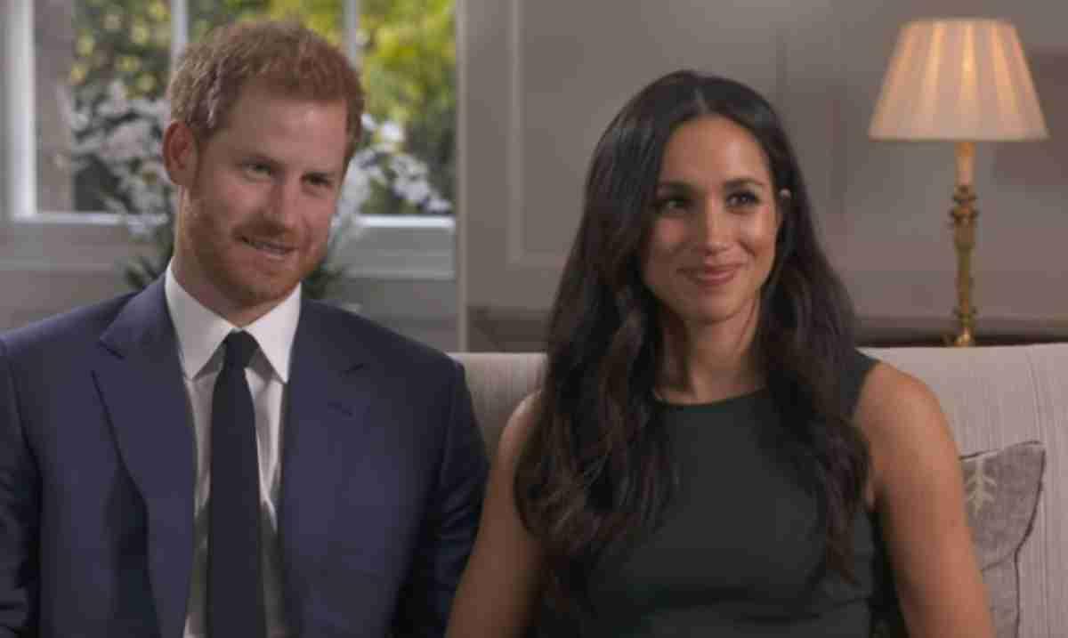 Príncipe Harry e Meghan Markle, print entrevista de noivado