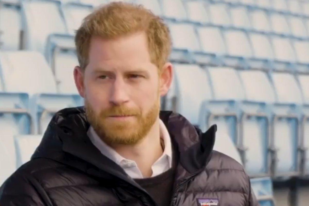 Príncipe Harry print de vídeo de 2019