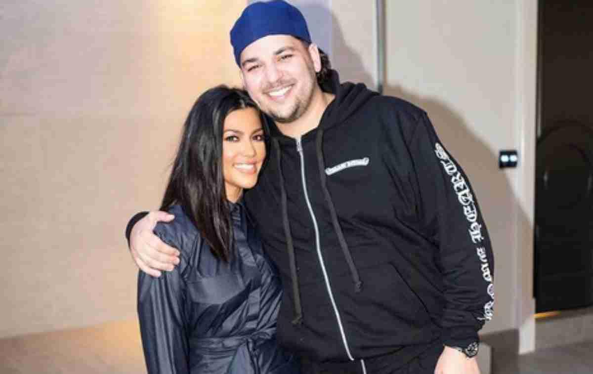 Rob Kardashian e Kourtney Kardashian
