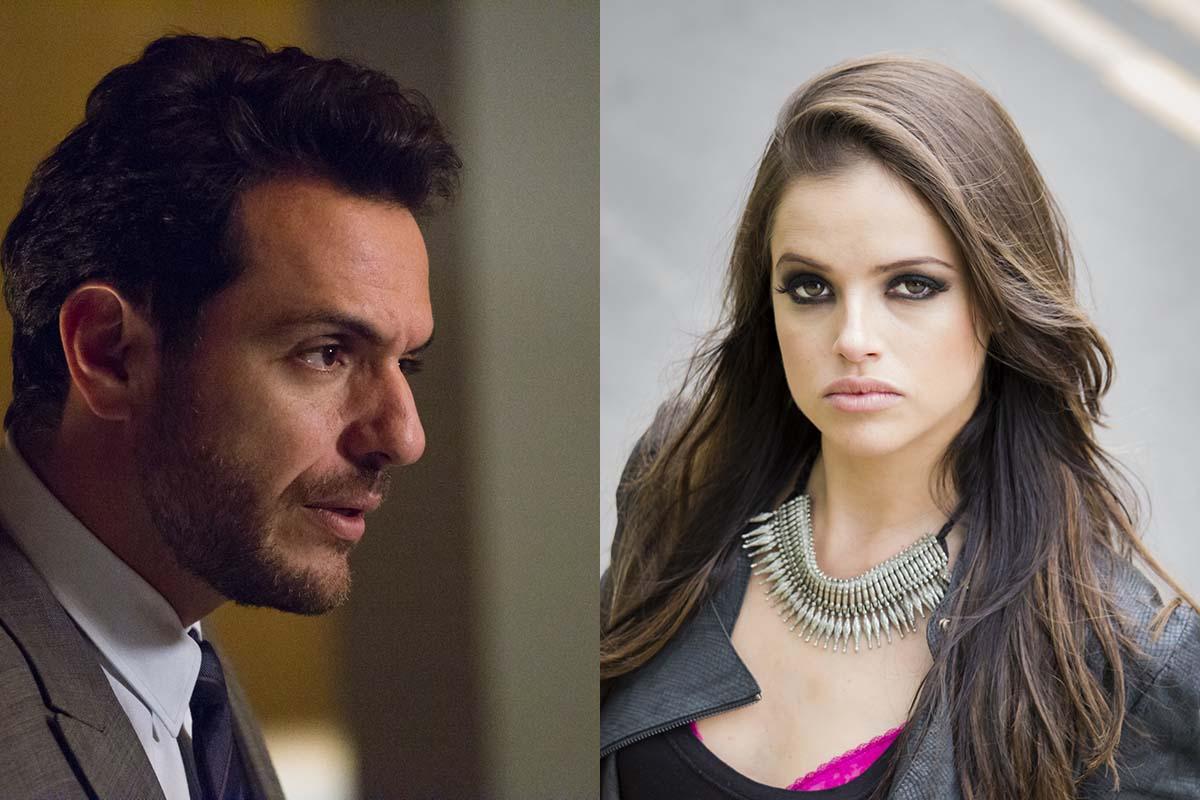 Rodrigo Lombardi e Agatha Moreira em Verdades Secretas