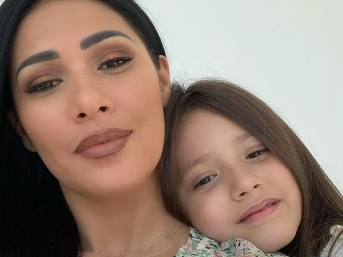 Simaria e a filha Giovana