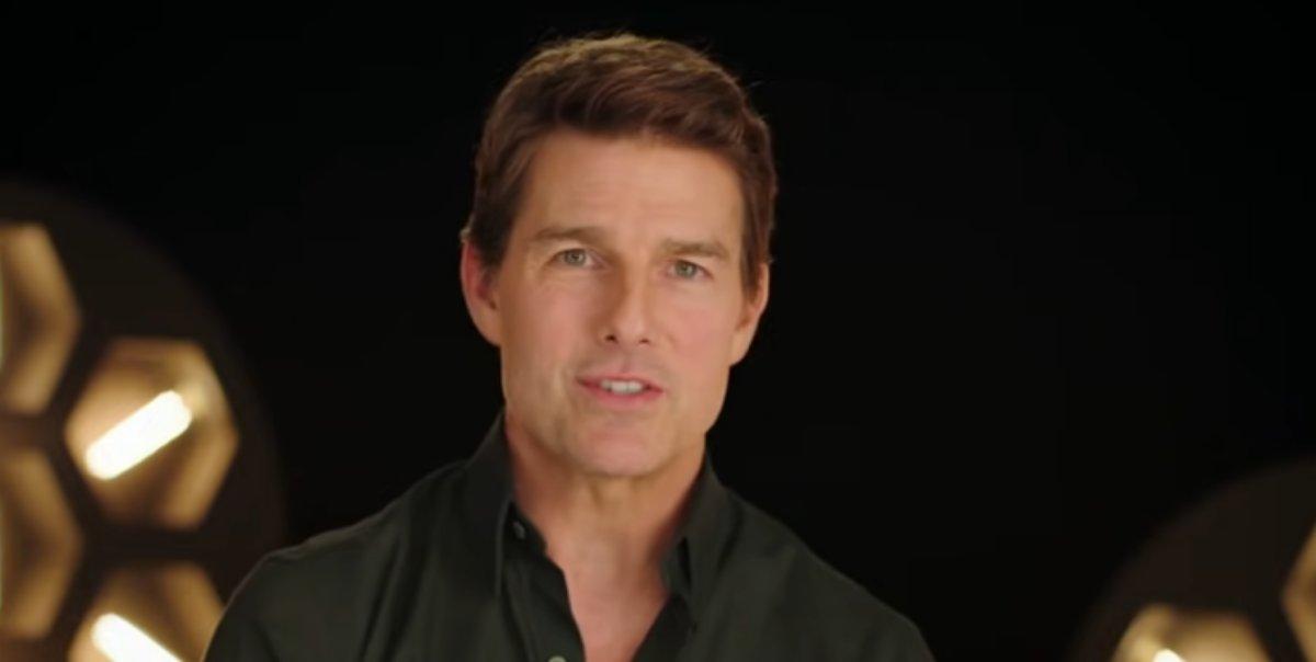 Tom Cruise, print de entrevista sobre MI6