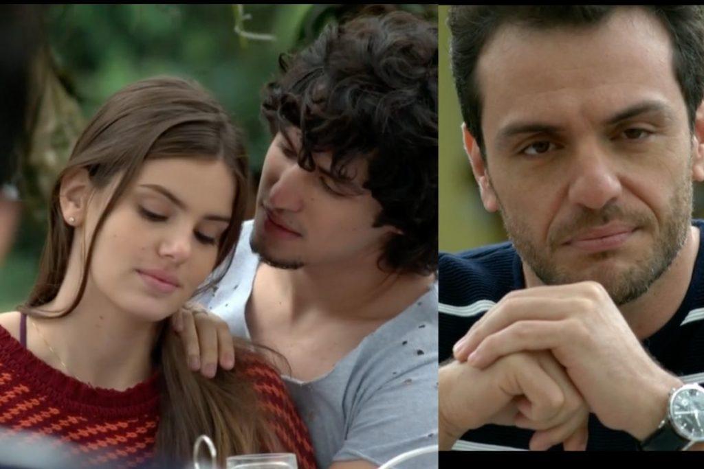 verdades-secretas-Angel e Guilherme anunciam seu namoro e Alex se irrita