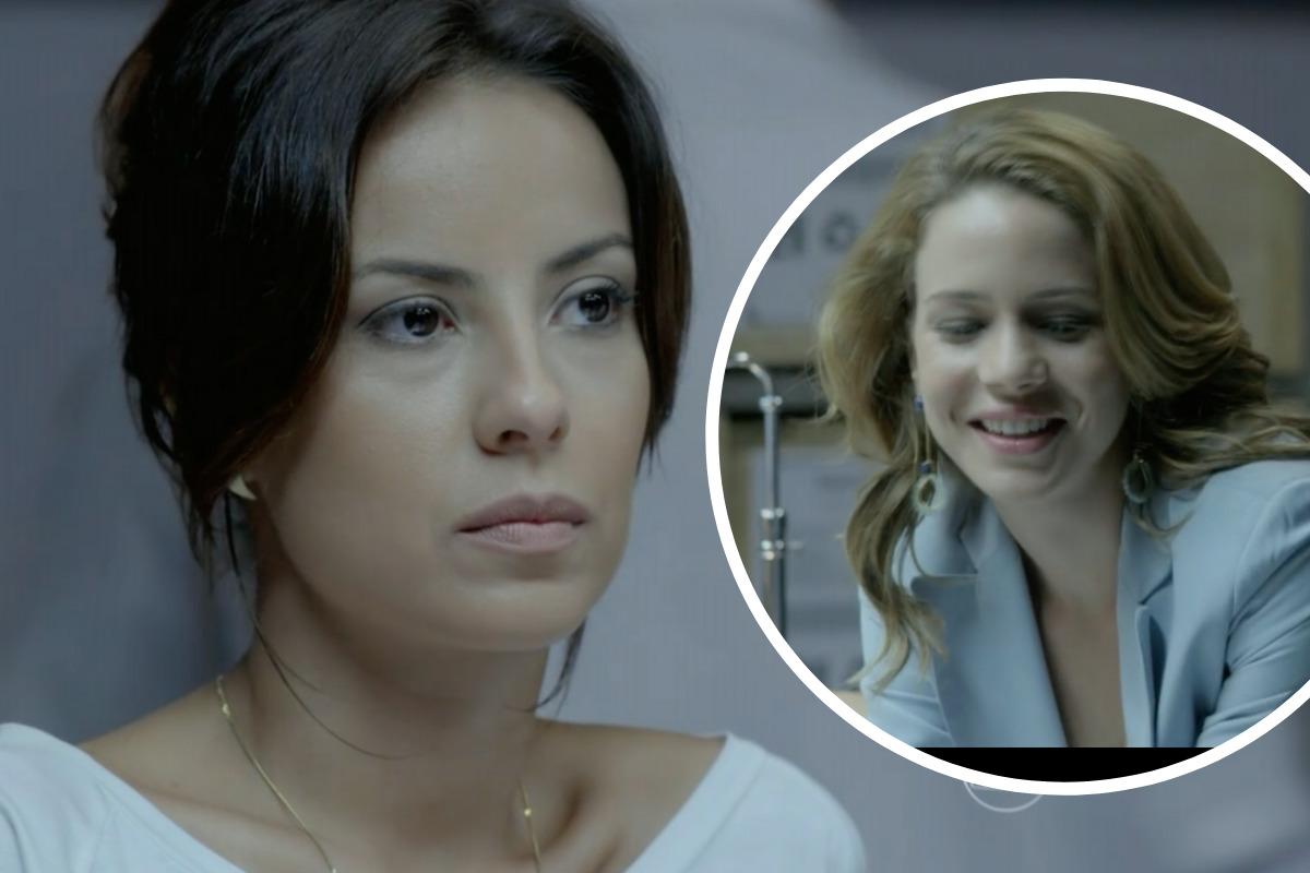 Império: Maria Clara (Andreia Horta) sente ciúmes de Cristina (Leandra Leal)
