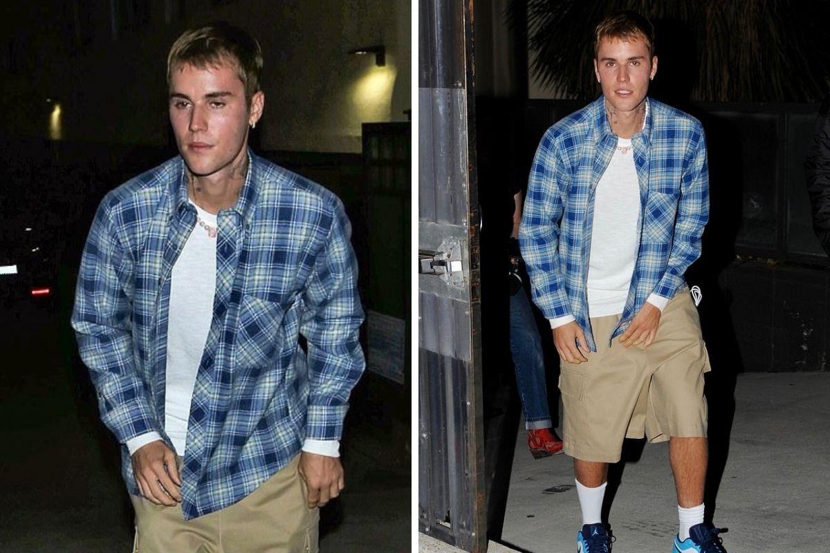 Justin Bieber saindo da missa noturna da Churchhome, em Beverly Hills