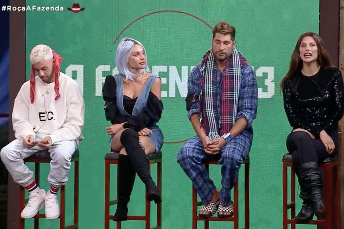 Peões definem quatro participantes para roça da semana