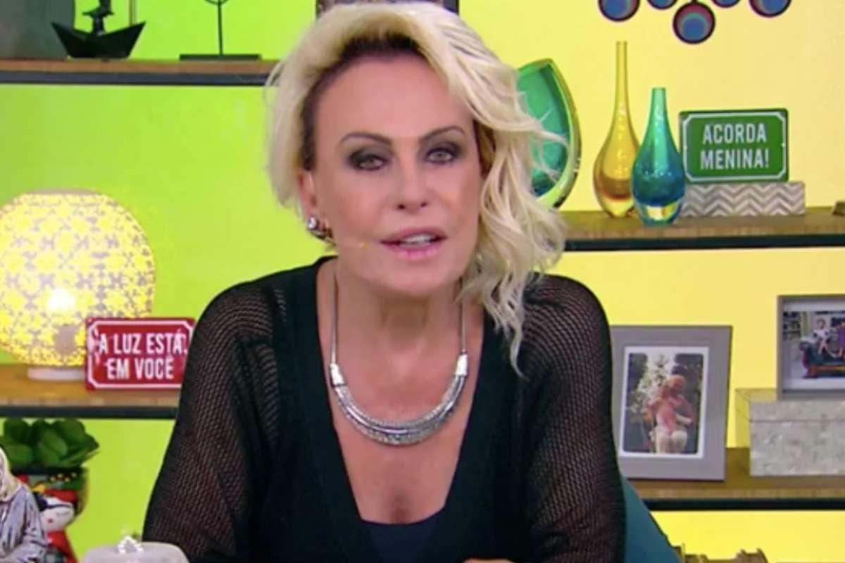 Ana Maria Braga sofre acidente e vai parar no hospital