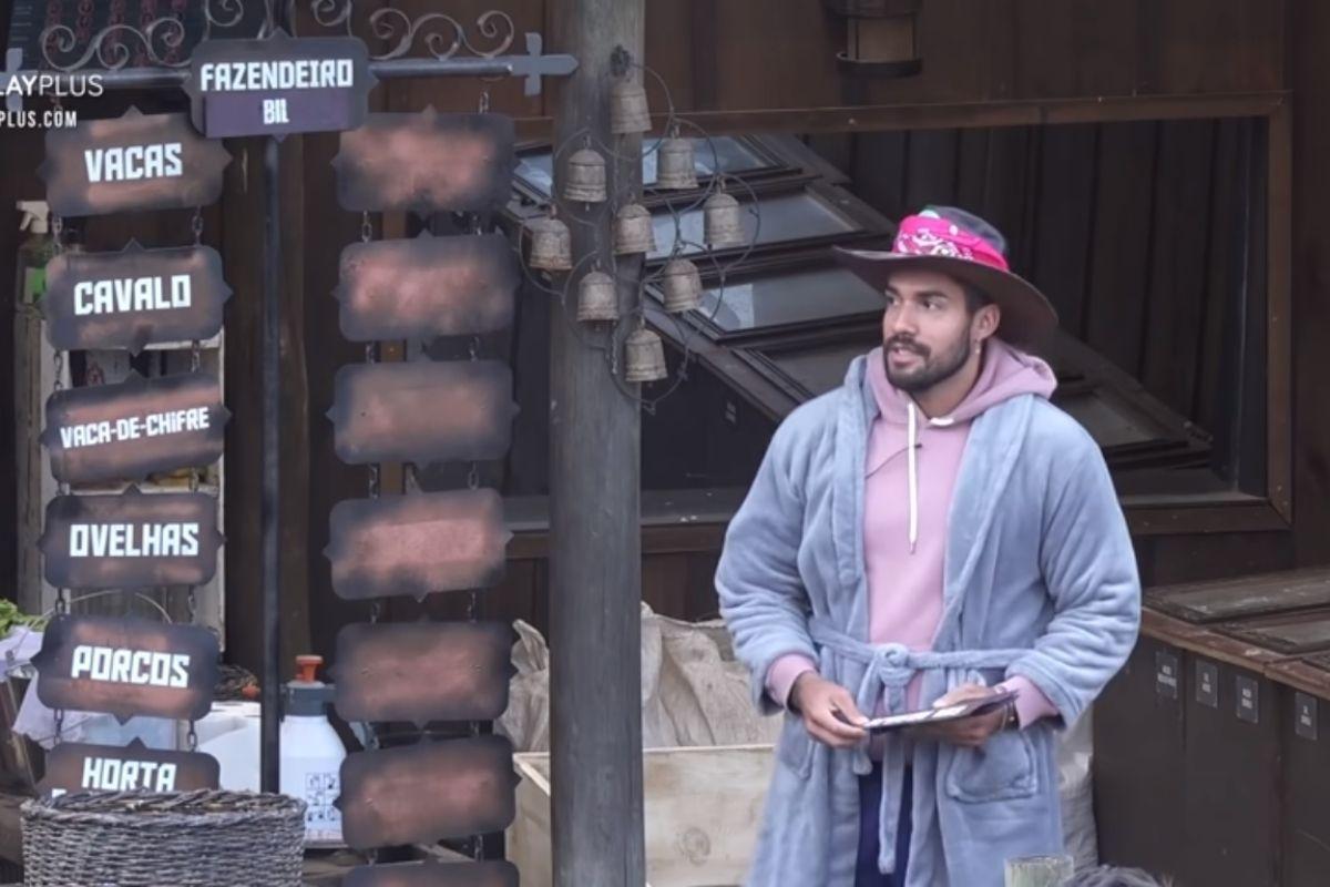 Bil Araújo como Fazendeiro da Semana