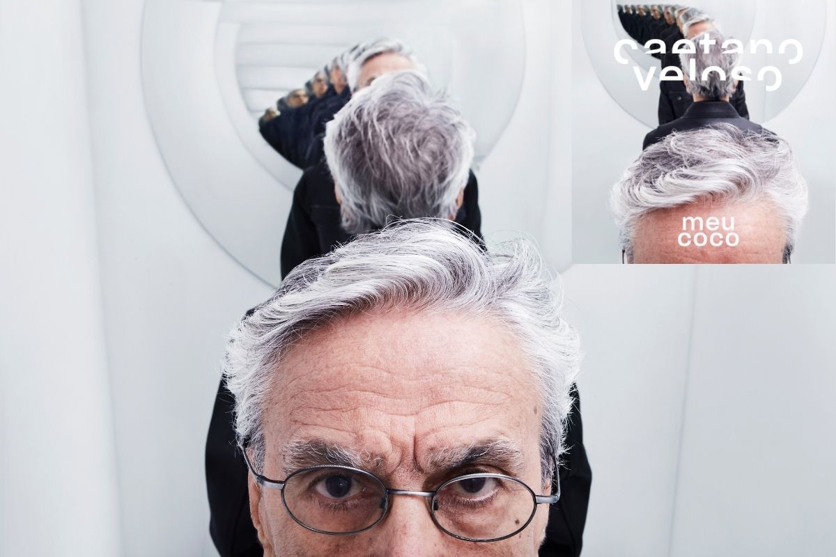 Caetano Veloso em ensaio e capa do novo disco, 'Meu Coco'