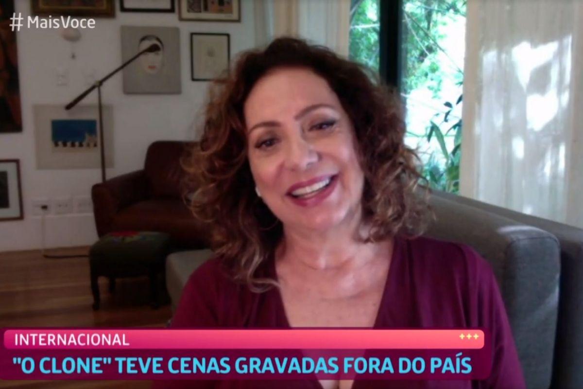 Eliane Giardini comenta votla de O Clone em conversa com Ana Maria Braga