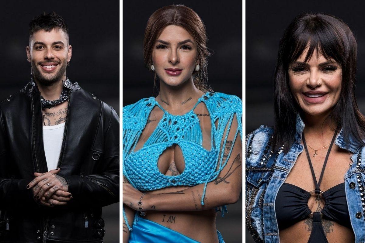 Gui Araújo, Lary Bottino e Valentina Francavilla