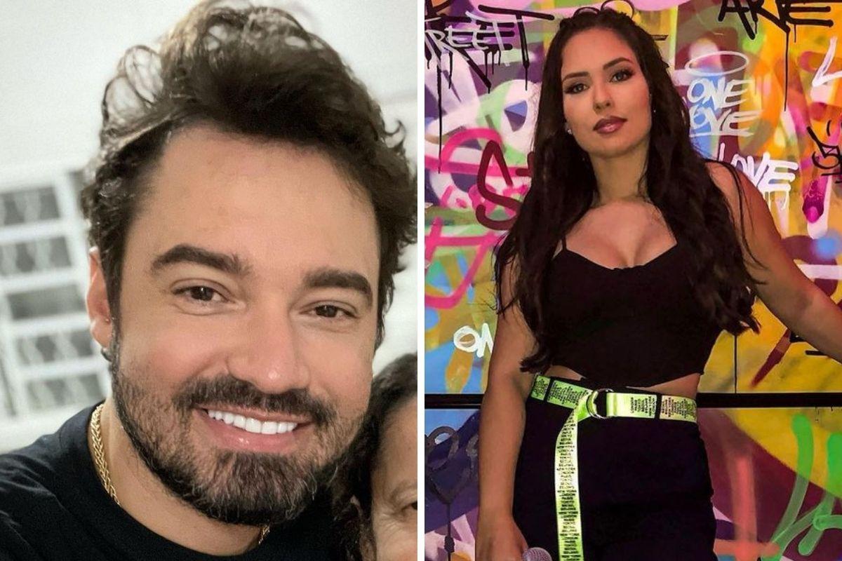 Fernando Zor e a cantora Mali