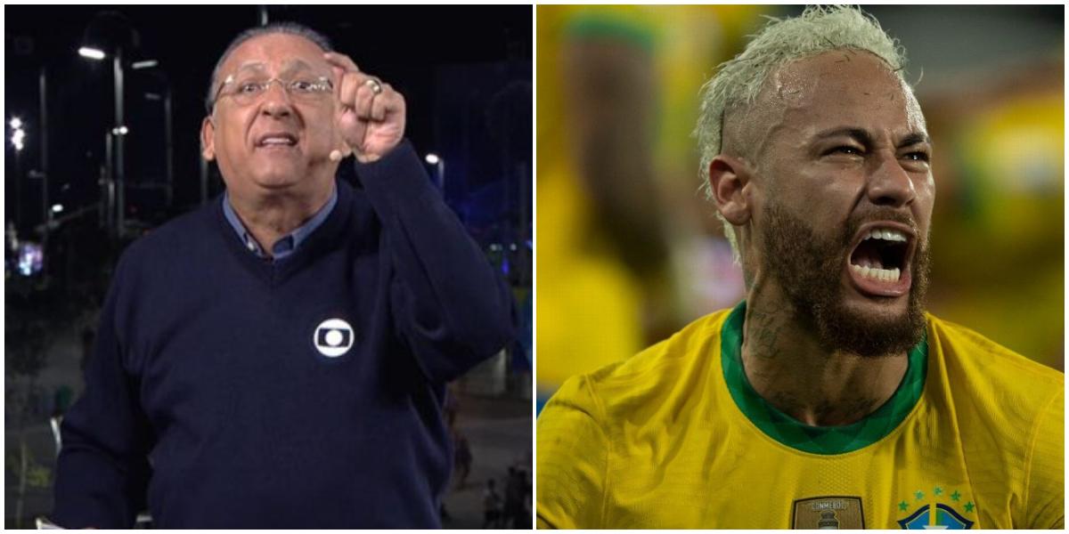 Galvão xinga Neymar