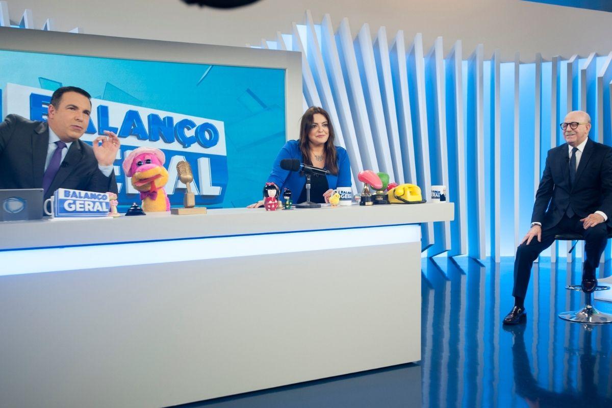 Reinaldo Gottino, Fabíola Reipert e Renato Lombardi