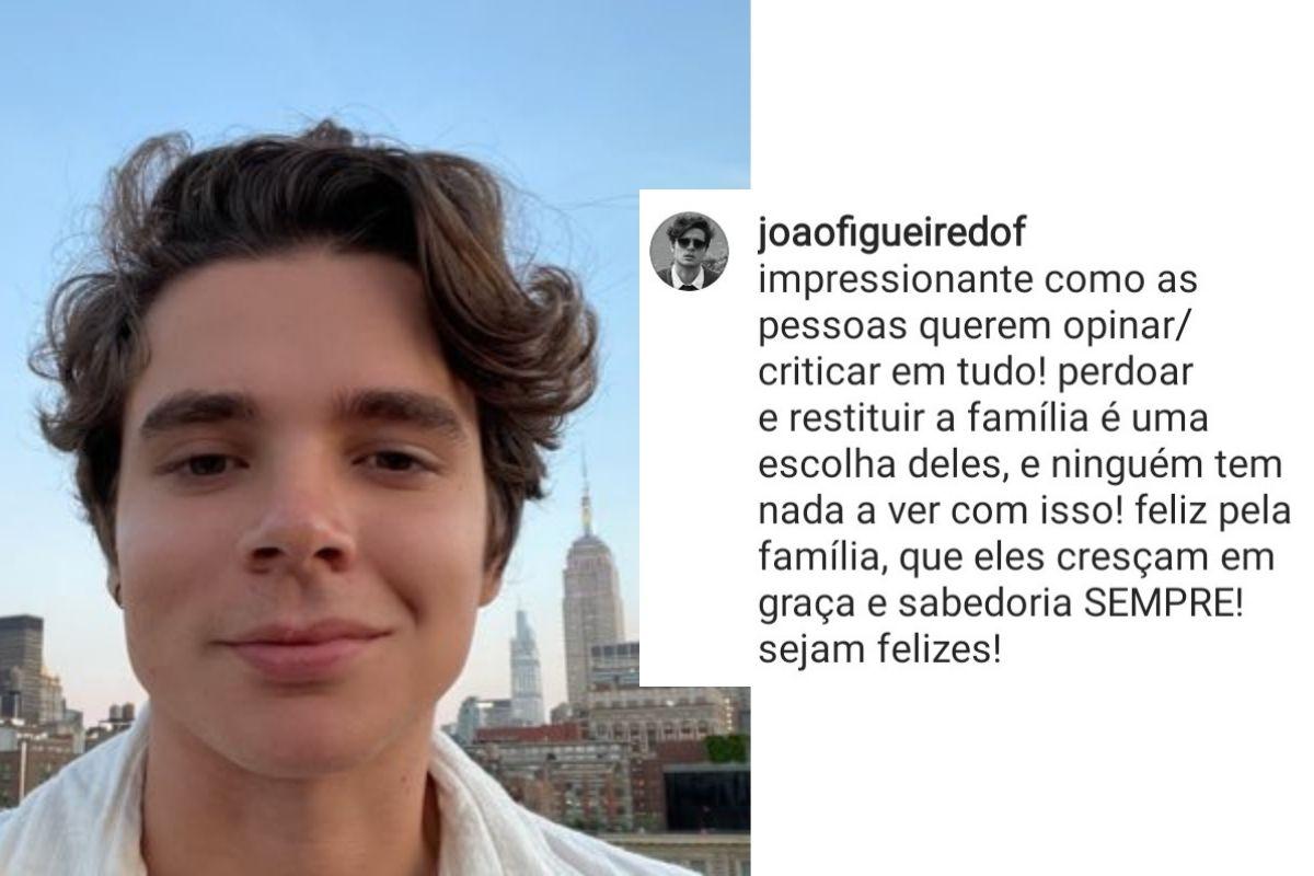 João Figueiredo opina sobre separação de Pyong