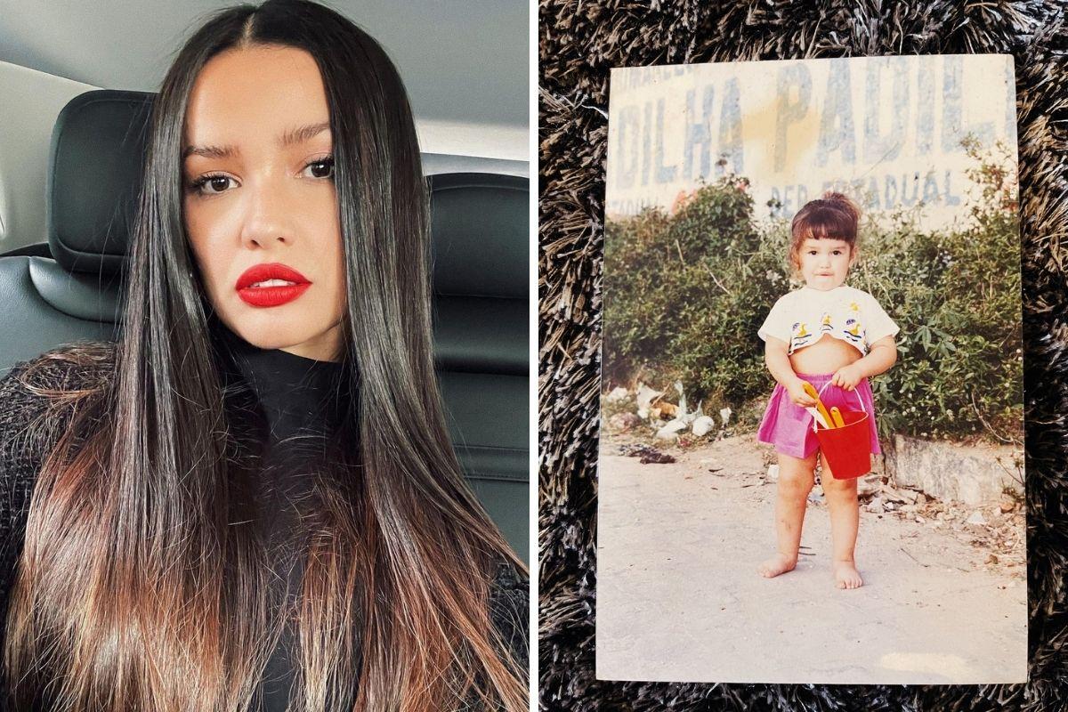 Juliette Freire abre álbum de infância